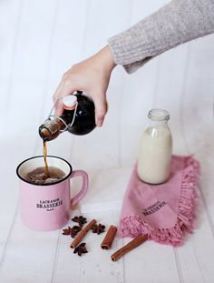 This homemade chai syrup recipe creates a tasty and unique DIY Christmas gift idea for friends, family and co-workers!