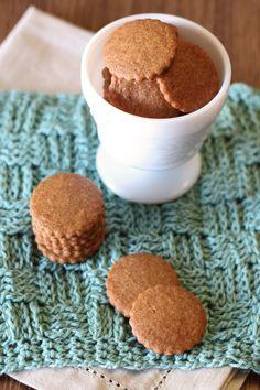 Sarah Bakes Gluten Free Treats: gluten free vegan mini graham crackers - an option to use for graham cracker crumbs...or really tiny smores