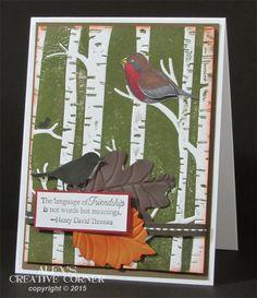 Alex's Creative Corner: Woodlands in Autumn