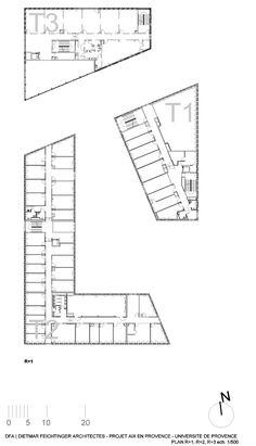 Gallery of Université de Provence in Aix-en-Provence Entension / Dietmar Feichtinger Architects - 36