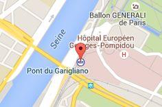 Pont du Garigliano: carte