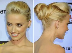 How to Chic: CELEBRITY HAIRSTYLE - AMBER HEARD