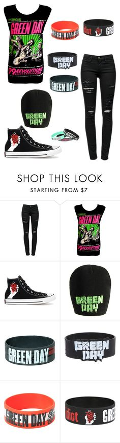 """""""Untitled #2"""" by ripper-benny ❤ liked on Polyvore featuring Frame Denim, Converse and Barbed"""