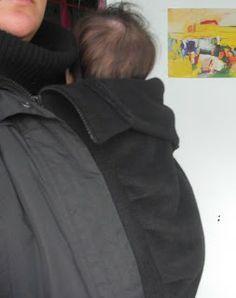 metzonderhanden: DIY draaginsert/ babywearing coat insert (in Dutch)