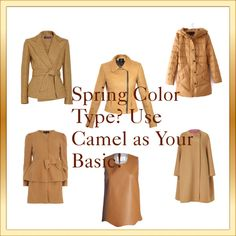 """""""BASIC COLOR SPRING COLOR TYPE"""" by saskiaterwelle on Polyvore"""