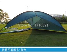 2015 new style good quality 480*480*480*200cm large space waterproof ultralight sun shelter bivvy awning beach tent