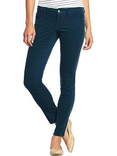 Women's Pop-Color Rockstar Cords | Old Navy - Just got these today, and am so excited to wear them to work!