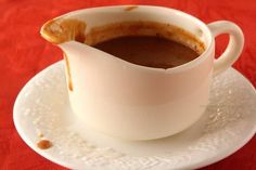 An easy from scratch gravy recipe made without meat drippings so you don't have to wait for the meat to be done.