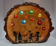 """Bunter Lichtzauber """"Weihnachtsbaum"""""""