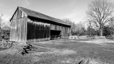 Faust Historical Village in Chesterfield MO #FaustHistoricalVillage #FaustCountyPark #Chesterfield #Missouri #BlackandWhite #WeatheredWood #Architecture #WilliamDavisPhotography.SmugMug.com #Canon #EOS #70D #HDR #Adobe #Lightroom #Landscape #TiltShift