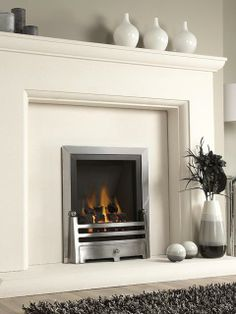 Marble and Limestone Surrounds Gas Fires | Fireplace | Pinterest ...