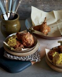 Cornmeal-Crusted Chicken-Fried Rabbit Recipe on Food & Wine