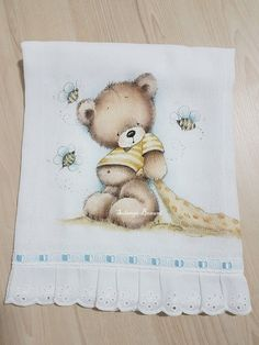 Baby Decor, Fabric Painting, Cute Baby Animals, Rock Art, Baby Quilts, Cute Babies, Embroidery Designs, Decoupage, Projects To Try