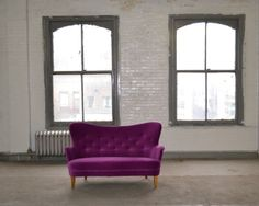 From Jousse Entreprise, Pierre Paulin, Sconces and Sofa Multimo & Lacquered metal, 70 × 245 × 105 cm Sofa, Couch, Settee, Love Seat, Sconces, 1950s, Accent Chairs, Artsy, Fine Art