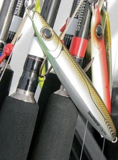 Saltwater Sportsman's Glenn Law explains vertical jigging.