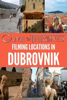 For the Game of Thrones fans Dubrovnik isn't just a city in Croatia, but also the filming set of Kings Landing. Come discover all the filming locations of Game of Thrones in Dubrovnik, including a map so you know exactly where they are plus photos of the location in real life compared to scenes from the TV show.
