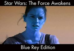 Star Wars The Force Awakens - Blue Rey Edition