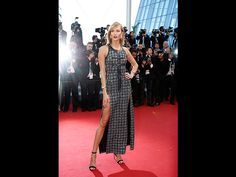 Cannes 2015 Karlie Kloss (Quelle: EPA/SEBASTIEN NOGIER)