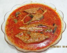 Purva's Food Funda: Maharastrian Fish Curry - Costal Ratnagiri Style (Papletache kalvan)