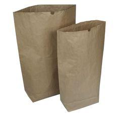Papiersäcke Papierbeutel Bio Müllsäcke 120 L oder 70 L Stückzahl Größe wählbar !