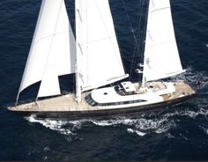 NORMAN FOSTER'S PERINI NAVI YACHT FOR CHARTER (via Luxury Insider)
