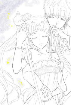 Sailor Moon Stars, Stars And Moon, Princess Serenity, Fanart, Animes Yandere, Moon Art, Adult Coloring, Manga Anime, Pokemon
