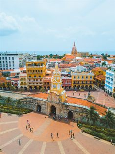 """The colorful downtown """"Walled City"""" in Cartagena, Colombia Ocean Photography, Photography Tips, Portrait Photography, Wedding Photography, Amazing Destinations, Travel Destinations, Beautiful World, Beautiful Places, Colombia Travel"""