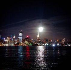 NYC skyline from Hoboken NJ!