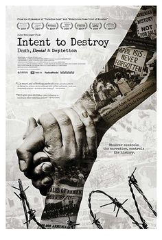 INTENT TO DESTROY embeds with a historic feature production as a springboard to explore the violent history of the Armenian Genocide and legacy of Turkish suppression and denial over the past century. Streaming Movies, Hd Movies, Movies To Watch, Movies Online, Hd Streaming, 2017 Movies, Films, New Movie Posters, Making A Movie
