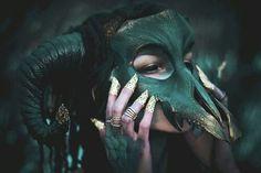 Картинка с тегом «green, mask, and aesthetic»