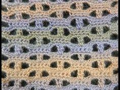 Un moderno punto fantasía en Crochet, el # 17