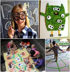 Throw the ultimate thrill filled party for and with your kids this October with these 28 awesome Halloween Games For Kids. We've got you covered here on Kids Activities Blog when it comes to simple halloween games, activities, crafts and costume ideas this year