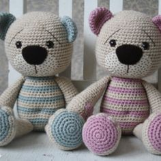 Tummy Teddy – crochet pattern