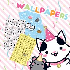 Continuing the surprises of this birthday month we've made some wallpapers!! Choose your favorite image and personalize your smartphone to make it the cutest!!