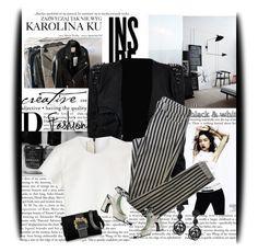 """Sem título #3112"" by sribeiro ❤ liked on Polyvore featuring Cotton Candy, Arche, KAROLINA, Neil Barrett, Topshop, Louis Vuitton, Roberto Cavalli, Oscar de la Renta, women's clothing and women"