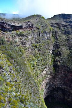 Inside the crater of Piton de la Fournaise - Reunion Island    #travel #reunionisland #indianocean