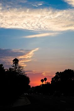 Sunset - Santa Barbara, California
