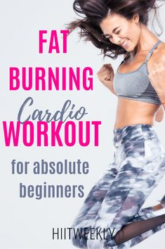 Blitz fat and get fit fast with this at home cardio HIIT workout designed for absolute beginners with no equipment. Perfect if you are new to working out at home and need a little guidance to get you started on your fitness and weight loss journey. Beginner Cardio Workout, Fat Burning Cardio Workout, Workout For Beginners, Cardio Hiit, Cardio Challenge, Fat Workout, Workout Fitness, Cardio Workout At Home, At Home Workouts