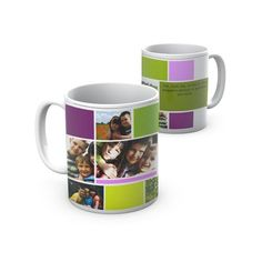 Uma caneca para toda a família. A mug for the whole family.