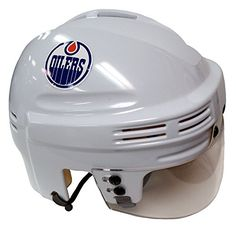Compare Edmonton Oilers Helmet prices and save big on Oilers Helmets and other Canada-area sports team gear by scanning prices from top retailers. Hockey Helmet, Team Gear, Edmonton Oilers, Helmets, Jets, Nhl, Canada, Mini, Sports