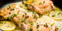 Best Skillet Chicken Piccata Recipe - How to Make Skillet Chicken Piccata