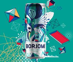 Georgian mineral water brand Borjomi likes taking on new challenges, applying fresh approaches and daring solutions in its ongoing efforts to evolve as a brand and reinvent its package design and advertising campaigns. Water Packaging, Water Branding, Beverage Packaging, Brand Packaging, Design Agency, Branding Design, Mineral Water Brands, Label Design, Package Design
