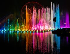 It's the Wonderful World of Color. My favorite thing in the world Disney Day, Disney Love, Disney Stuff, Disney Tourist Blog, Disney Parks, Disney World Pictures, Park Around, Disney Shows, Disney California Adventure