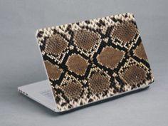 Snake skin laptop skin