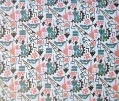 Disk - an album of vintage Soviet textile repeat patterns Textiles, Textile Patterns, Textile Prints, Textile Design, Soviet Art, Fabric Wallpaper, Repeating Patterns, Baby Patterns, Screen Printing