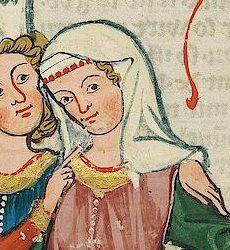 fillet veil codex manesse