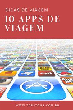 Dicas de 10 aplicativos de viagem #dicasdeviagem #appdeviagem