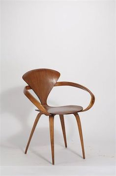 Norman Cherner, Armchair (1958) (exhibit: The Werner Löffler Collection In  Reichenschwand