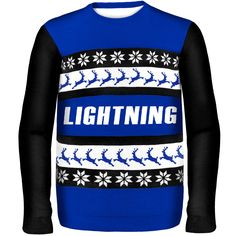 Tampa Bay Lightning One Too Many Ugly Sweater - $31.34