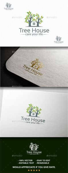 Tree House • Available here → http://graphicriver.net/item/tree-house/11380140?s_rank=400&ref=pxcr